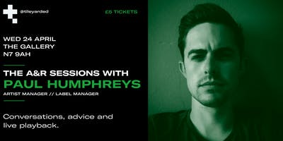 THE A&R SESSIONS WITH PAUL HUMPHREYS