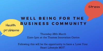 Well Being for the Business Community