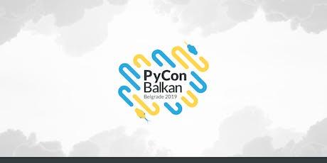 PyCon Balkan tickets