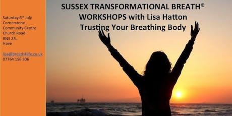 Transformational Breath® - Trusting Your Breathing Body tickets