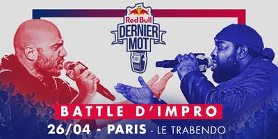 Red Bull Dernier Mot All Stars - Paris