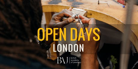 British Academy of Jewellery Open Day London tickets