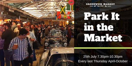Park It in the Market - July tickets
