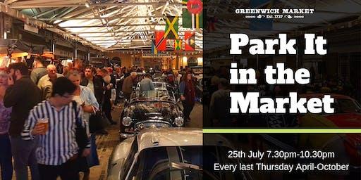 Park It in the Market - July