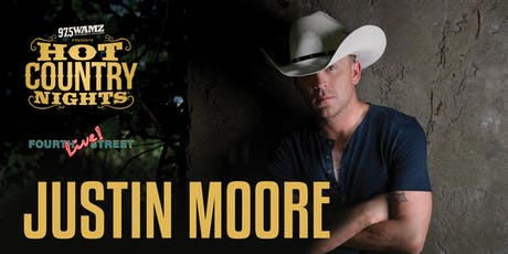 Hot Country Nights: Justin Moore tickets