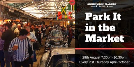 Park It in the Market - August tickets