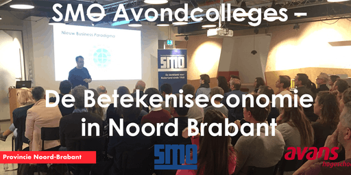 THRIVE Institute Avondcolleges - De Betekeniseconomie in Noord Brabant