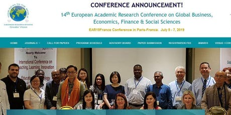 14th European Academic Research Conference (GVC) tickets