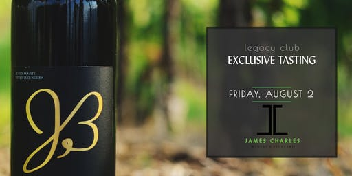 Legacy Club Member Only Exclusive Tasting-The Founder