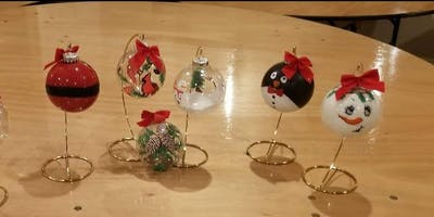Christmas Ornament Painting