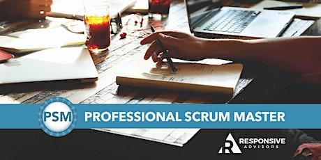 Professional Scrum Master (PSM) - Seattle  tickets