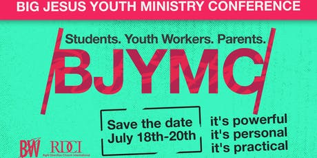 Big Jesus Youth Ministry Conference tickets
