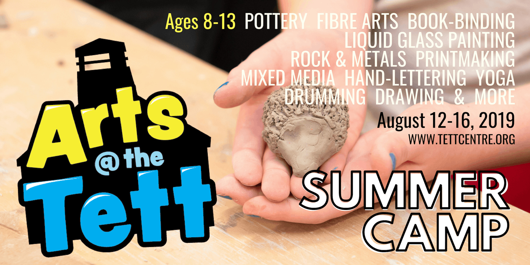 Arts at the Tett Summer Camp