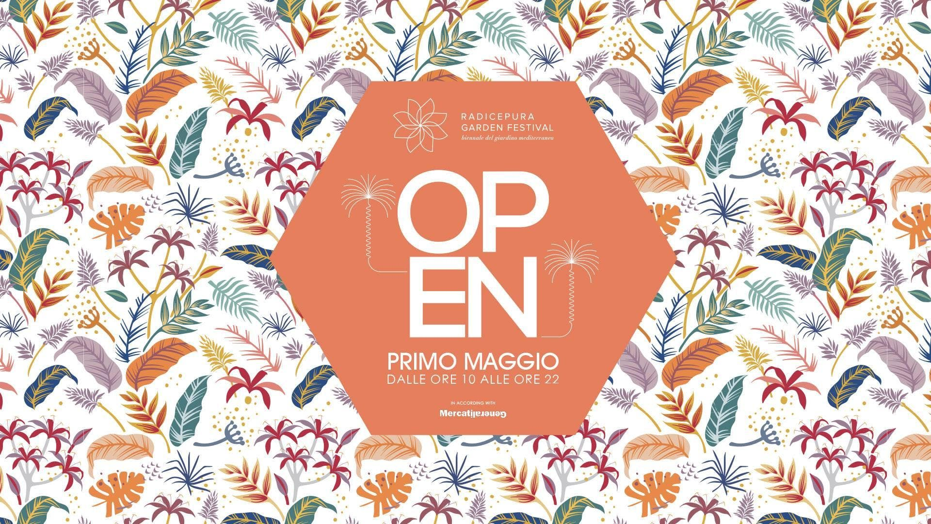 OPEN 1 Maggio at Radicepura / Art Music Food