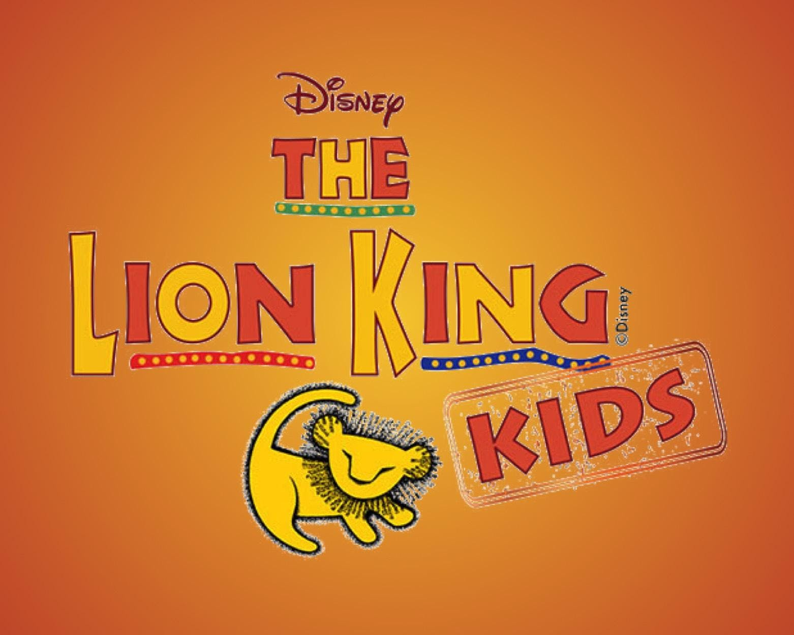 Lion King KIDS Tickets Thursday, May 9th at 7:00pm