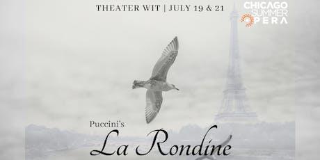 La Rondine tickets