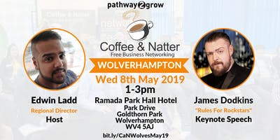 "Wolverhampton ""Coffee & Natter\"" - Free Networking Wed 8th May"
