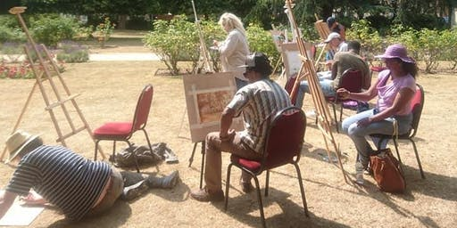 Unique Painting Workshops -Meditation in Action-Release your stress!