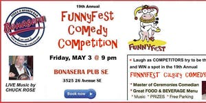 Friday, May 3 @ 9 pm FunnyFest Talent Search -...