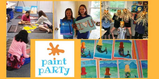 Kids Grade 1-4 Summer Art Camp