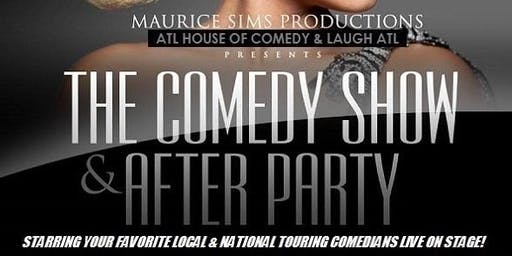 Saturday Night Comedy & After Party