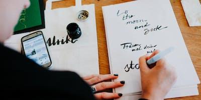 Lettering Workshop - Zürich - 23.06.2019