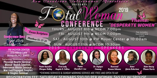 NCDM - The Total Woman Conference 2019