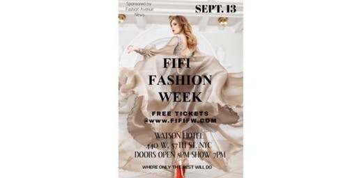 FREE FIFI FASHION WEEK SHOW