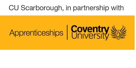 CU Scarborough Degree & Higher Apprenticeship Taster  tickets