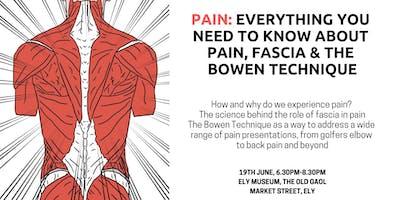 Pain, Fascia & The Bowen Technique
