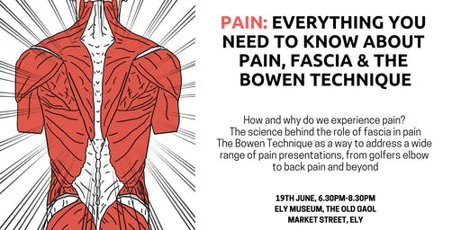 Pain, Fascia & The Bowen Technique