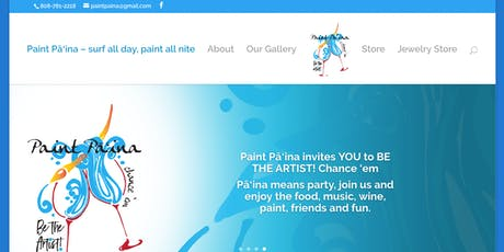 Paint Pāʻina, A Hawaiian Kine Paint Party tickets