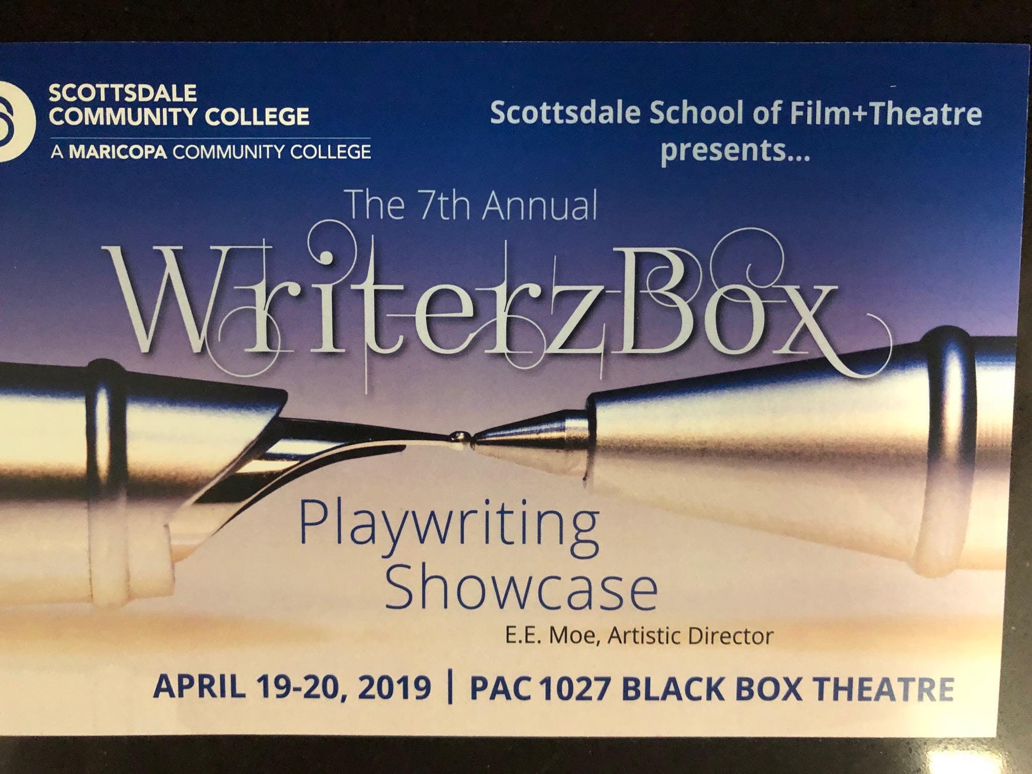 The 7th Annual WriterzBox Playwriting Showcase