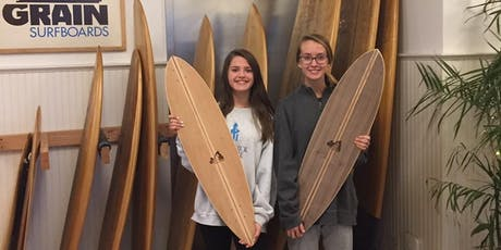 Youth Intensive Skateboard and Paddle building workshop (5 half days) tickets
