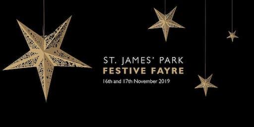 St James' Park Festive Fayre