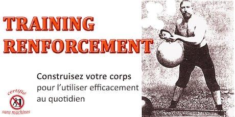 Training Renforcement billets