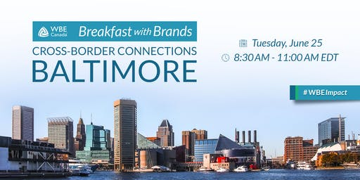 Breakfast with Brands: Baltimore, USA