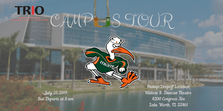 University of Miami Campus Tour tickets