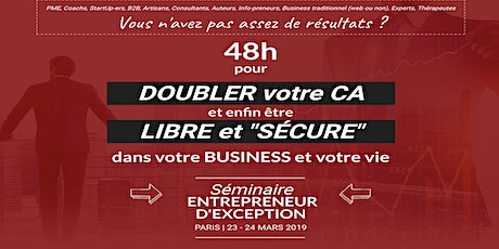 Paris 16/01/2021 Séminaire Entrepreneur d'exception - David Laroche tickets