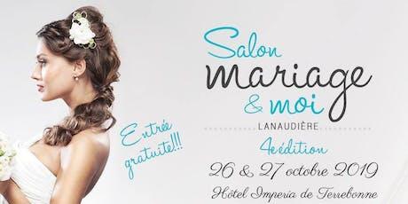 SALON MARIAGE & MOI - 4e édition billets
