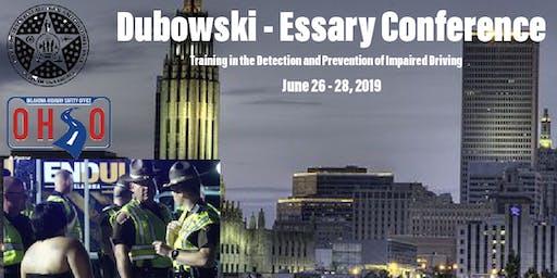 Annual Oklahoma Dubowski - Essary Impaired Driving Conference - Tulsa Oklahoma