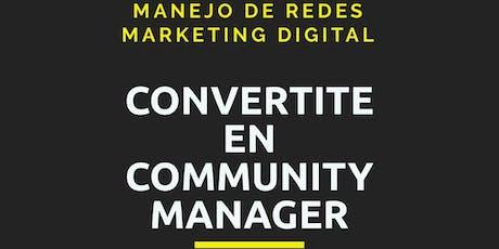 Curso de Community Manager entradas
