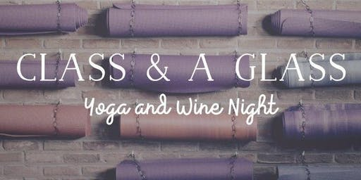 Yoga & Wine Night - Free Session Avail.