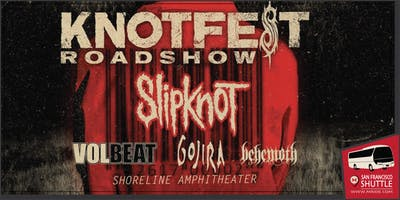 Knotfest Party Bus to Shoreline Amphitheater