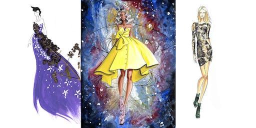 Fashion Illustration Beginners Workshop in LA