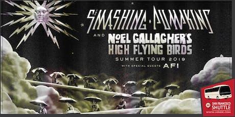 Shoreline Amphitheater Concert Shuttle: Smashing Pumpkins at Shoreline tickets