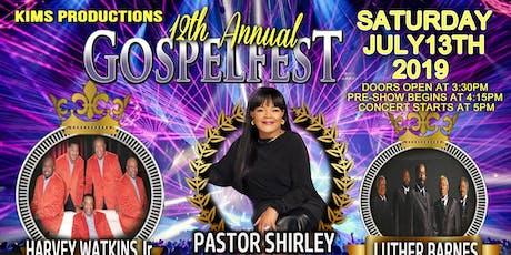12th Annual Gospel Fest  tickets