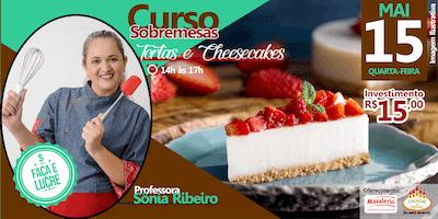 CURSO SOBREMESAS - TORTAS E CHEESECAKES