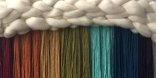 Weaving Workshop / Mini Cloud Wall Hanging