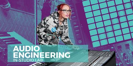 Wednesday Night - Spring Audio Engineering Lab
